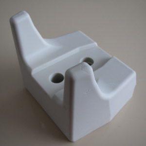 Poslogic Wand / Toonbank houder voor CCD scanner, wit